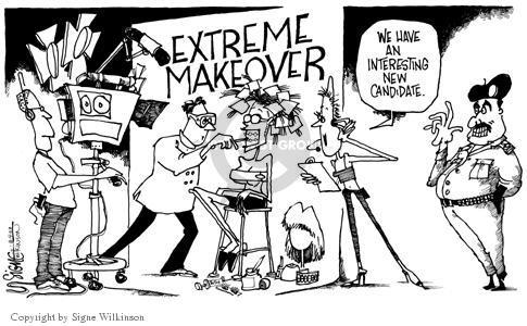 Signe Wilkinson  Signe Wilkinson's Editorial Cartoons 2003-08-04 candidate
