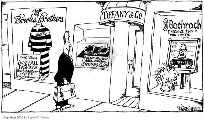 Signe Wilkinson  Signe Wilkinson's Editorial Cartoons 2002-08-05 economics