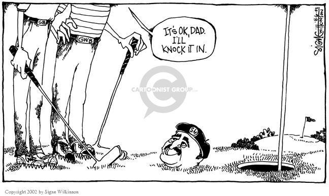 Signe Wilkinson  Signe Wilkinson's Editorial Cartoons 2002-08-06 Kuwait
