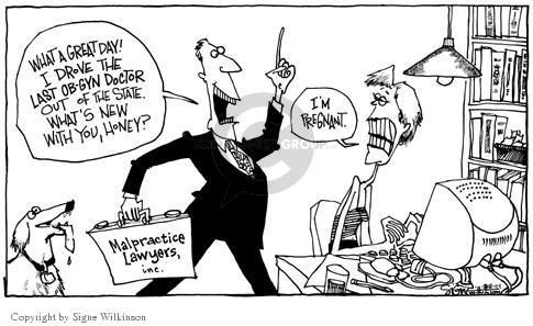 Signe Wilkinson  Signe Wilkinson's Editorial Cartoons 2003-08-08 medicine