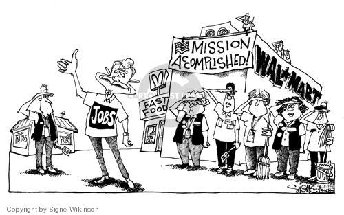 Signe Wilkinson  Signe Wilkinson's Editorial Cartoons 2004-08-13 economic growth