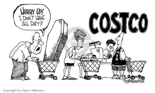 Cartoonist Signe Wilkinson  Signe Wilkinson's Editorial Cartoons 2004-08-18 speed