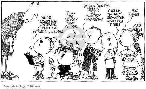 Cartoonist Signe Wilkinson  Signe Wilkinson's Editorial Cartoons 2003-08-26 alert