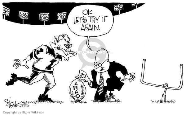 Cartoonist Signe Wilkinson  Signe Wilkinson's Editorial Cartoons 2005-08-30 Constitution