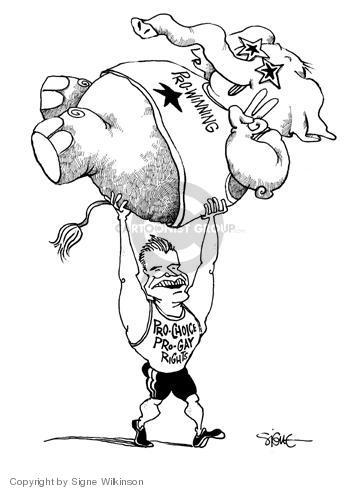 Signe Wilkinson  Signe Wilkinson's Editorial Cartoons 2004-09-01 republican convention