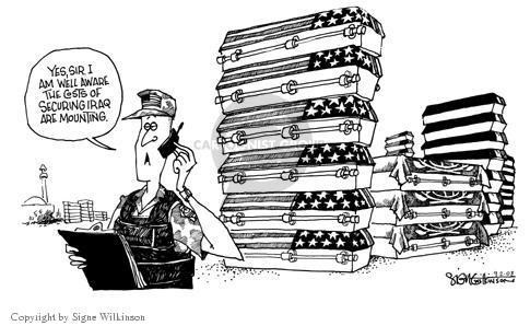 Signe Wilkinson  Signe Wilkinson's Editorial Cartoons 2003-09-02 count
