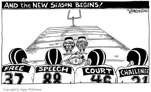 Cartoonist Signe Wilkinson  Signe Wilkinson's Editorial Cartoons 2003-09-09 legality