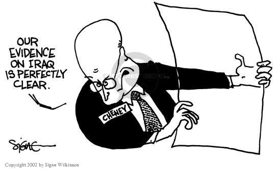 Cartoonist Signe Wilkinson  Signe Wilkinson's Editorial Cartoons 2002-09-10 proof