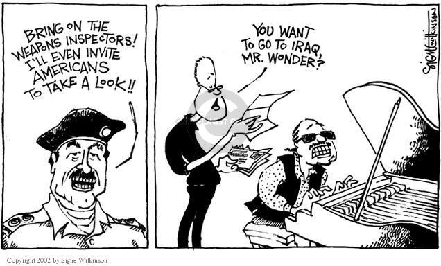 Cartoonist Signe Wilkinson  Signe Wilkinson's Editorial Cartoons 2002-09-10 genuine