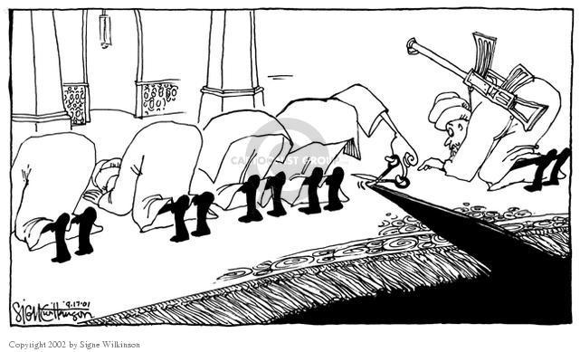 Signe Wilkinson  Signe Wilkinson's Editorial Cartoons 2001-09-17 wear
