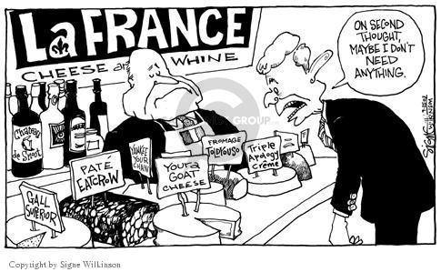 Cartoonist Signe Wilkinson  Signe Wilkinson's Editorial Cartoons 2003-09-25 dispute