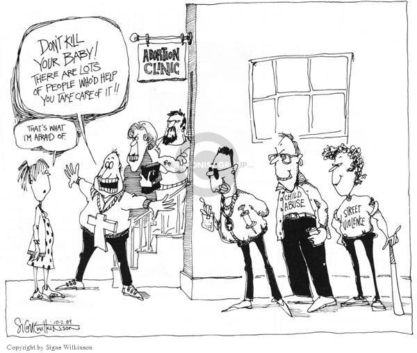Cartoonist Signe Wilkinson  Signe Wilkinson's Editorial Cartoons 1989-10-02 care