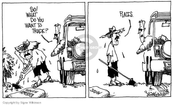 Signe Wilkinson  Signe Wilkinson's Editorial Cartoons 2001-04-25 poverty