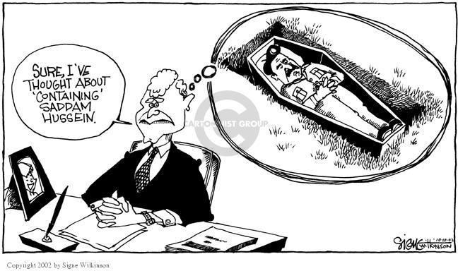 Signe Wilkinson  Signe Wilkinson's Editorial Cartoons 2002-10-10 political leader