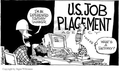 Signe Wilkinson  Signe Wilkinson's Editorial Cartoons 2003-10-16 economic