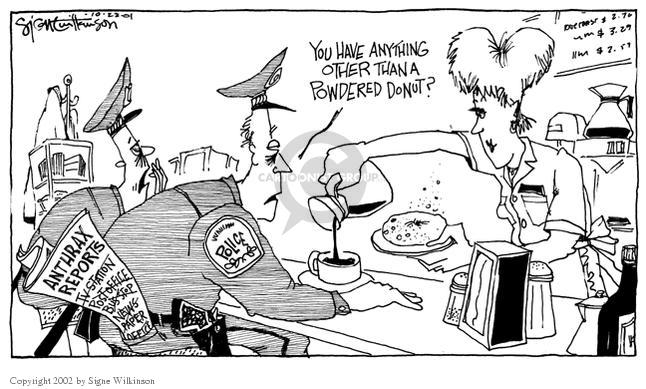 Signe Wilkinson  Signe Wilkinson's Editorial Cartoons 2001-10-22 anything