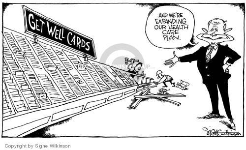 Signe Wilkinson  Signe Wilkinson's Editorial Cartoons 2004-10-22 2004