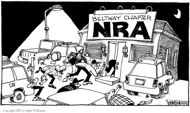 Signe Wilkinson  Signe Wilkinson's Editorial Cartoons 2002-10-24 afraid