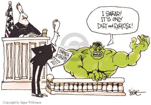 Signe Wilkinson  Signe Wilkinson's Editorial Cartoons 2003-10-29 strong