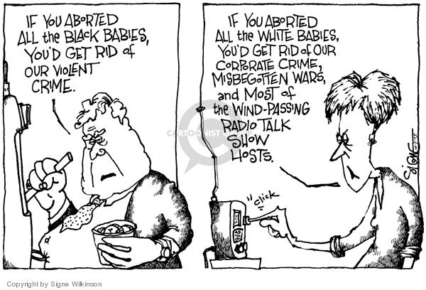 Signe Wilkinson  Signe Wilkinson's Editorial Cartoons 2005-10-05 bigotry