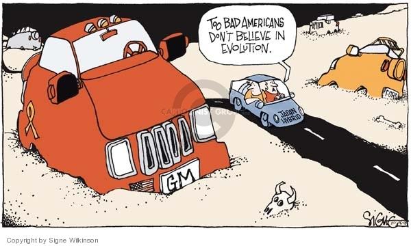 Signe Wilkinson  Signe Wilkinson's Editorial Cartoons 2005-10-06 Ford