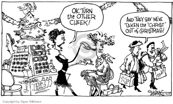 Cartoonist Signe Wilkinson  Signe Wilkinson's Editorial Cartoons 2005-12-06 Matthew