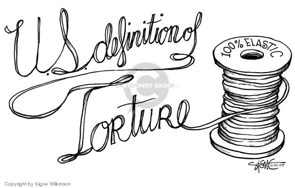 Signe Wilkinson  Signe Wilkinson's Editorial Cartoons 2005-12-09 treatment