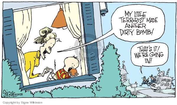 Cartoonist Signe Wilkinson  Signe Wilkinson's Editorial Cartoons 2005-12-20 search privacy