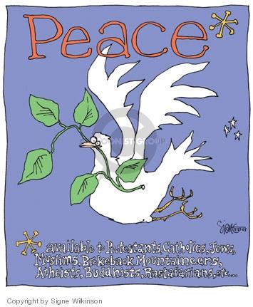 Cartoonist Signe Wilkinson  Signe Wilkinson's Editorial Cartoons 2005-12-22 similarity
