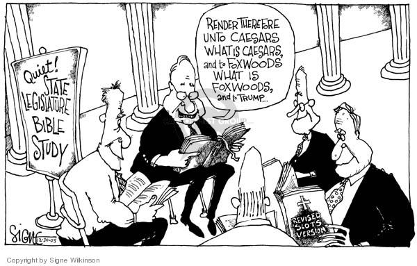Cartoonist Signe Wilkinson  Signe Wilkinson's Editorial Cartoons 2005-12-30 Donald Trump taxes