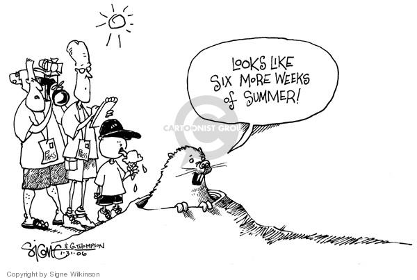 Signe Wilkinson  Signe Wilkinson's Editorial Cartoons 2006-01-31 day