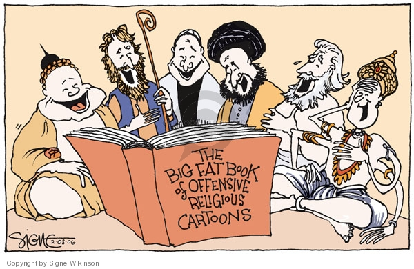 The Big Fat Book for Offensive Religious Cartoons.