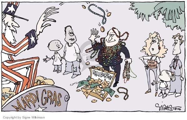 Cartoonist Signe Wilkinson  Signe Wilkinson's Editorial Cartoons 2006-02-28 rebuild