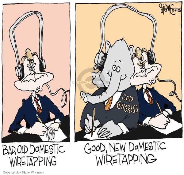 Signe Wilkinson  Signe Wilkinson's Editorial Cartoons 2006-03-09 GOP