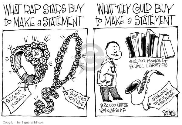 Signe Wilkinson  Signe Wilkinson's Editorial Cartoons 2006-05-30 $12