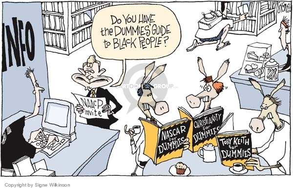 Cartoonist Signe Wilkinson  Signe Wilkinson's Editorial Cartoons 2006-07-21 opposition research