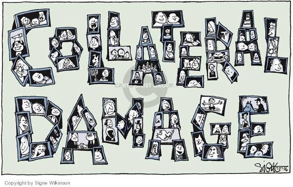 Cartoonist Signe Wilkinson  Signe Wilkinson's Editorial Cartoons 2006-07-27 Iraq war