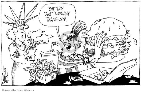Signe Wilkinson  Signe Wilkinson's Editorial Cartoons 2006-10-03 New York City