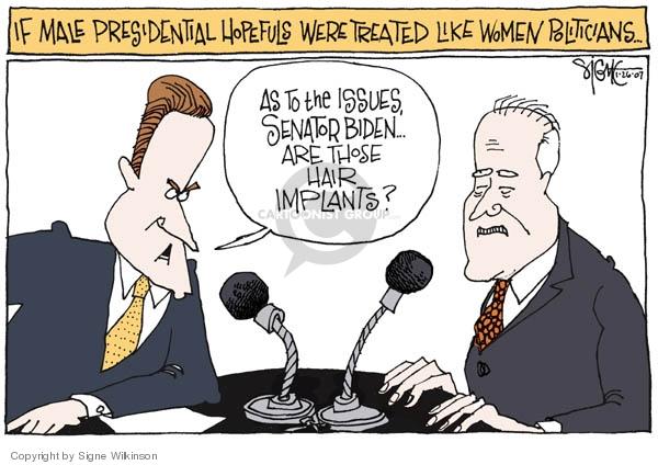 Signe Wilkinson  Signe Wilkinson's Editorial Cartoons 2007-01-26 Joe Biden