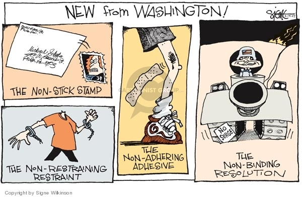 Signe Wilkinson  Signe Wilkinson's Editorial Cartoons 2007-02-19 separation