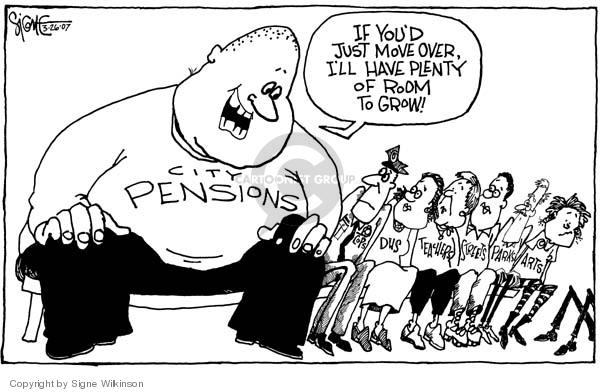 Signe Wilkinson  Signe Wilkinson's Editorial Cartoons 2007-03-26 road