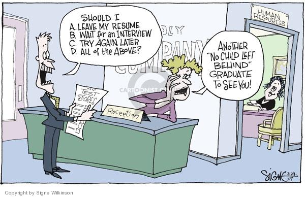Signe Wilkinson  Signe Wilkinson's Editorial Cartoons 2007-03-29 should