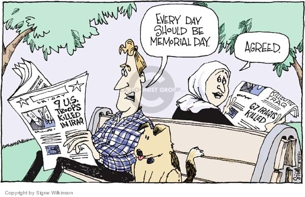 Signe Wilkinson  Signe Wilkinson's Editorial Cartoons 2007-05-25 every