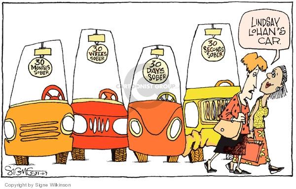 Signe Wilkinson  Signe Wilkinson's Editorial Cartoons 2007-05-31 week