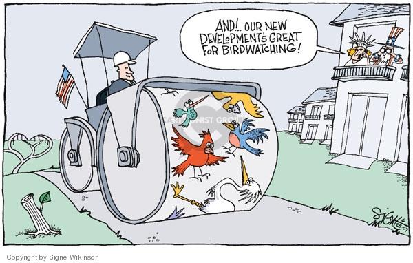 Signe Wilkinson  Signe Wilkinson's Editorial Cartoons 2007-06-25 housing