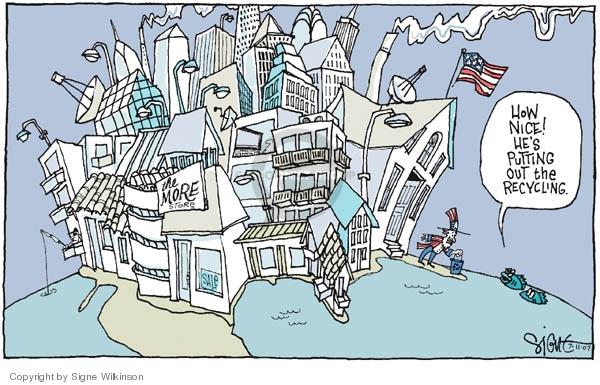 Signe Wilkinson  Signe Wilkinson's Editorial Cartoons 2007-07-11 environment