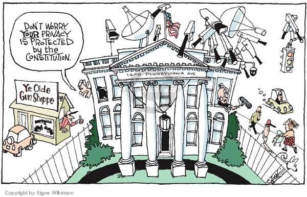 Signe Wilkinson  Signe Wilkinson's Editorial Cartoons 2007-07-13 Constitution