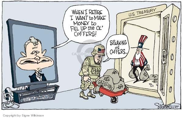 Signe Wilkinson  Signe Wilkinson's Editorial Cartoons 2007-09-06 federal budget