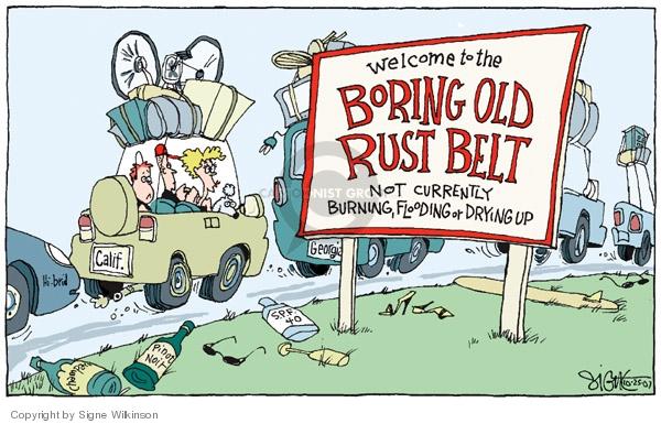 Signe Wilkinson  Signe Wilkinson's Editorial Cartoons 2007-10-25 global warming
