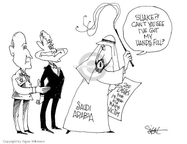 Signe Wilkinson  Signe Wilkinson's Editorial Cartoons 2007-11-30 rape